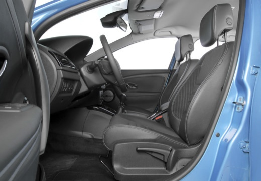 RENAULT Megane III III hatchback niebieski jasny wnętrze