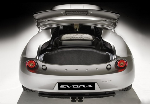 LOTUS Evora coupe silver grey tylny