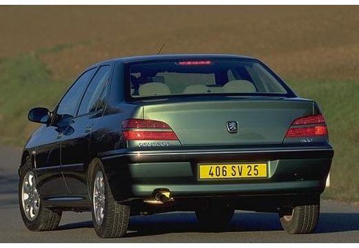 PEUGEOT 406 sedan zielony tylny lewy