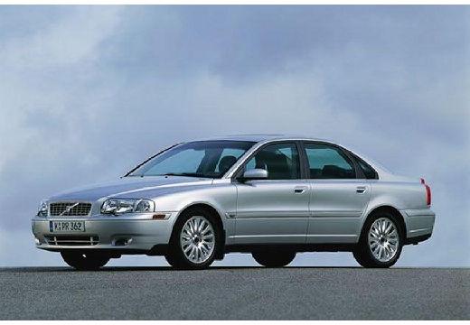 VOLVO S80 I sedan silver grey przedni lewy