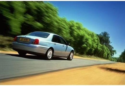 ROVER R 75 sedan silver grey tylny prawy