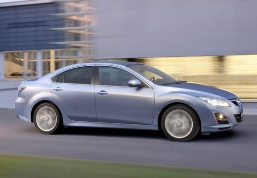 MAZDA 6 sedan silver grey przedni prawy