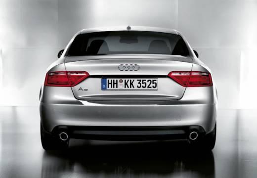 AUDI A5 I coupe silver grey tylny