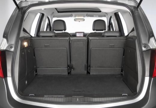 OPEL Meriva IV hatchback przestrzeń załadunkowa