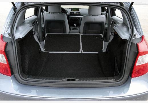 BMW Seria 1 hatchback przestrzeń załadunkowa