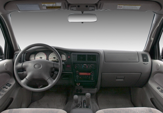 Toyota Tacoma pickup wnętrze