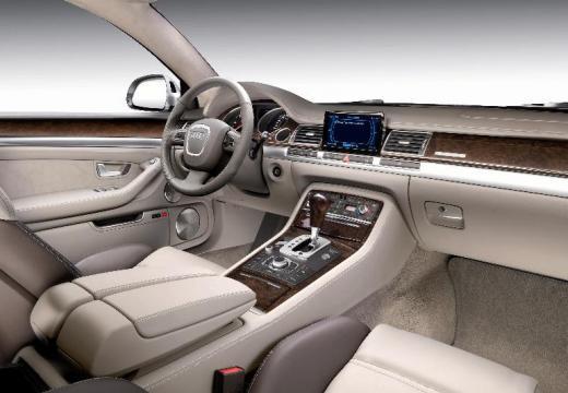 AUDI A8 4E II sedan silver grey tablica rozdzielcza