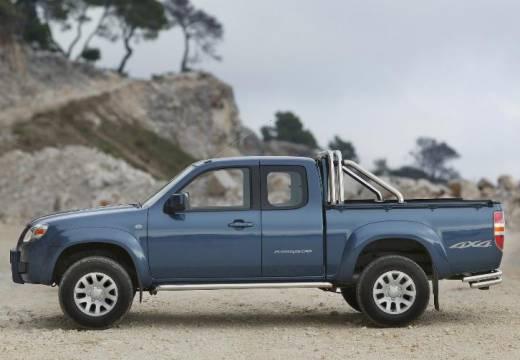 MAZDA B-seria pickup niebieski jasny boczny lewy
