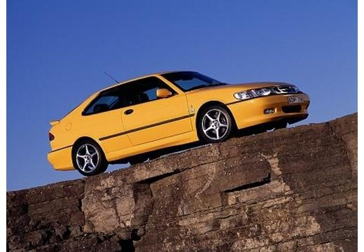SAAB 9-3 I hatchback żółty przedni prawy