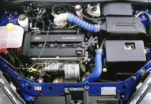 FORD Focus II hatchback niebieski jasny silnik