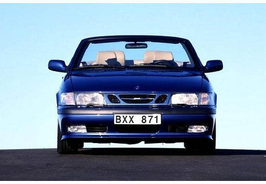 SAAB 9-3 Cabriolet I kabriolet niebieski jasny przedni