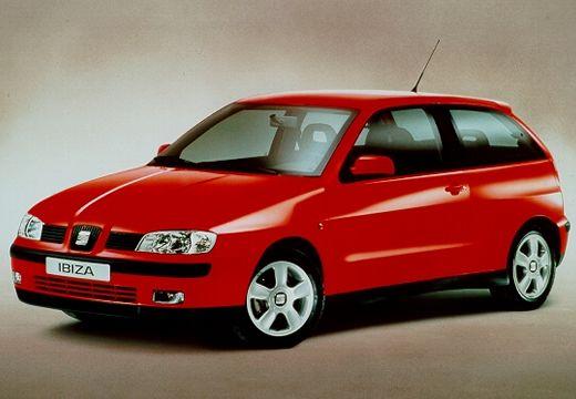 SEAT Ibiza III hatchback czerwony jasny przedni lewy