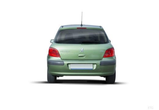 PEUGEOT 307 hatchback tylny