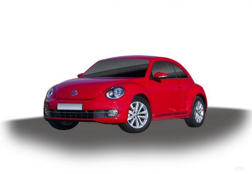 VOLKSWAGEN New Beetle Beetle I coupe czerwony jasny