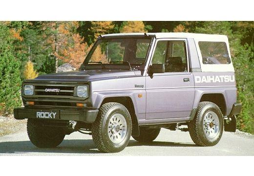 DAIHATSU Rocky 2.8 Smaragd TD Kombi I 102KM (diesel)