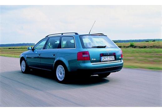 AUDI A6 /S6 Avant 4B I kombi zielony tylny lewy