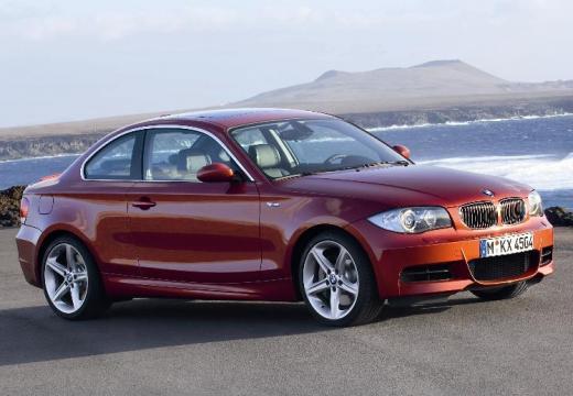 BMW Seria 1 E82 I coupe pomarańczowy przedni prawy