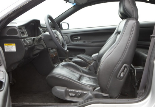 VOLVO C70 coupe silver grey wnętrze