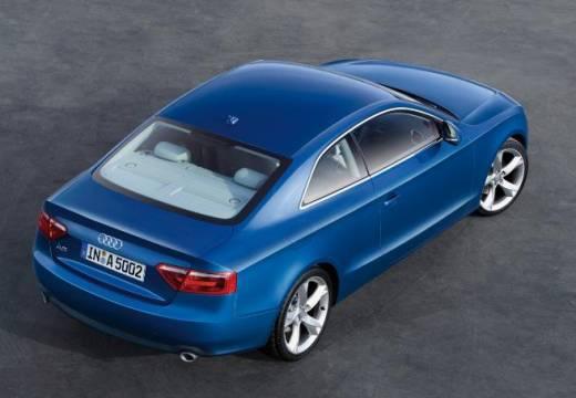 AUDI A5 I coupe niebieski jasny tylny prawy
