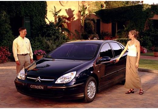CITROEN C5 I hatchback czarny przedni lewy