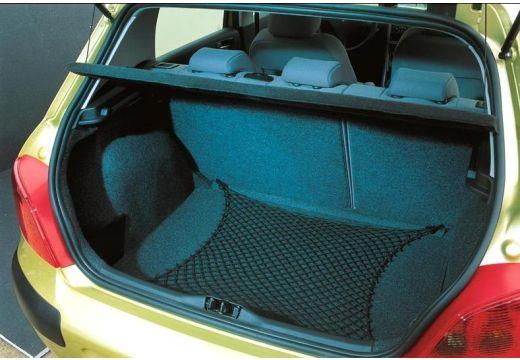 PEUGEOT 307 I hatchback złoty przestrzeń załadunkowa
