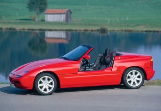 BMW Z1 roadster czerwony jasny boczny lewy