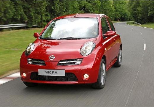 NISSAN Micra VI hatchback czerwony jasny przedni lewy
