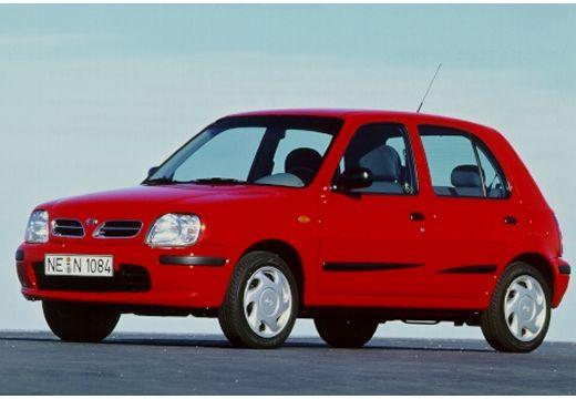 NISSAN Micra III hatchback czerwony jasny przedni lewy