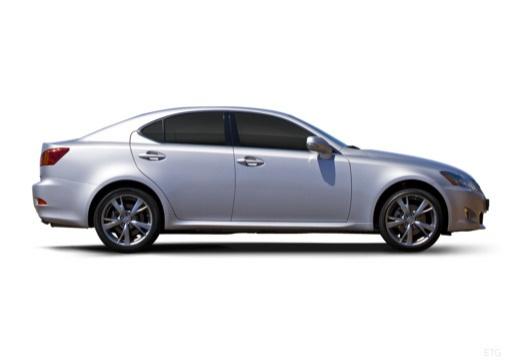 LEXUS IS III sedan silver grey boczny prawy