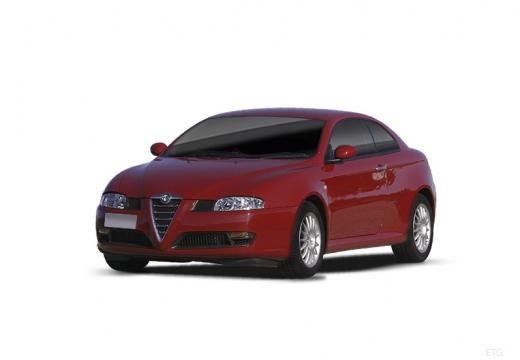 ALFA ROMEO GT coupe czerwony jasny