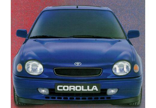 Toyota Corolla IV hatchback niebieski jasny przedni