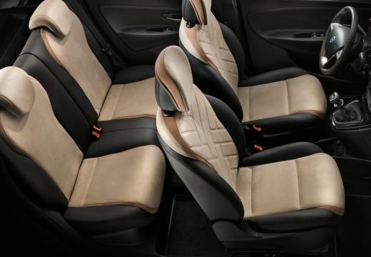 LANCIA Ypsilon III hatchback beige wnętrze