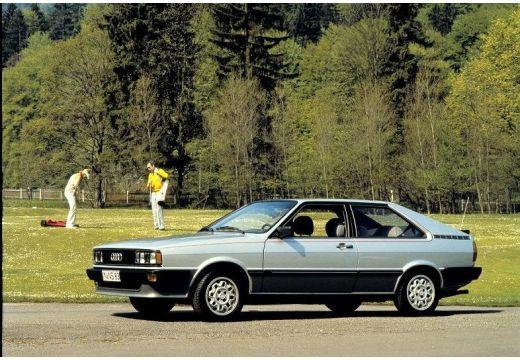 AUDI 80 coupe szary ciemny przedni lewy