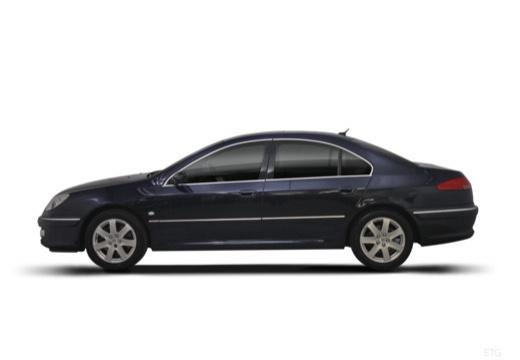 PEUGEOT 607 II sedan boczny lewy