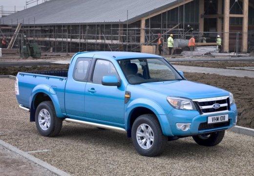 FORD Ranger pickup niebieski jasny przedni prawy