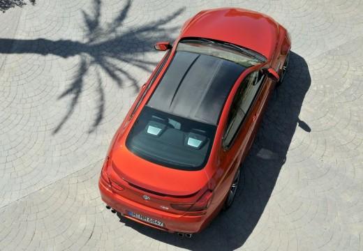 BMW Seria 6 F13 I coupe czerwony jasny tylny prawy
