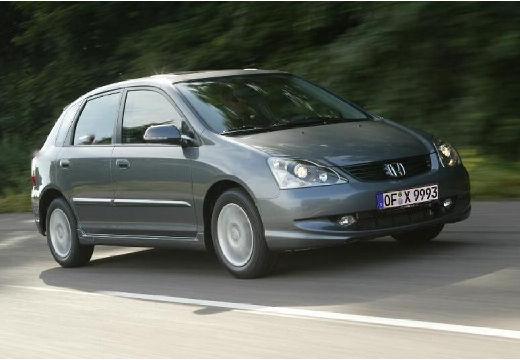 HONDA Civic V hatchback silver grey przedni prawy