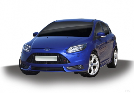 FORD Focus V hatchback niebieski jasny