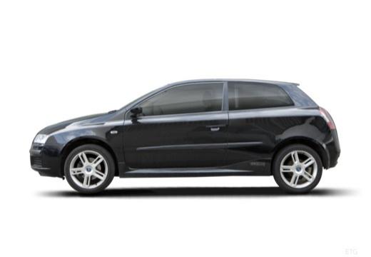 FIAT Stilo III hatchback czarny boczny lewy