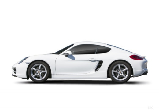 PORSCHE Cayman coupe boczny lewy