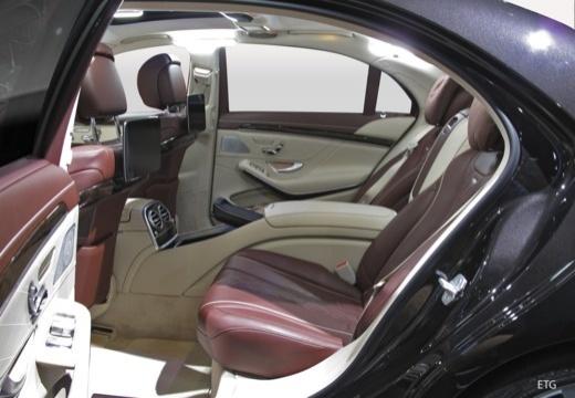MERCEDES-BENZ S Klasa W 222 sedan wnętrze