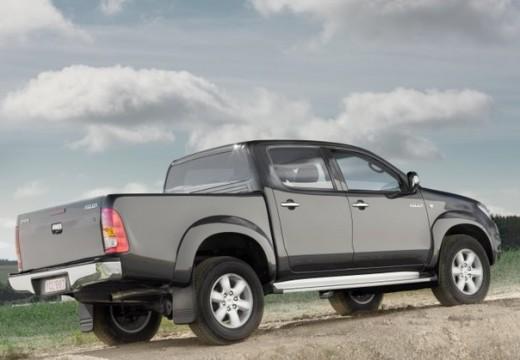 Toyota HiLux IV pickup szary ciemny tylny prawy