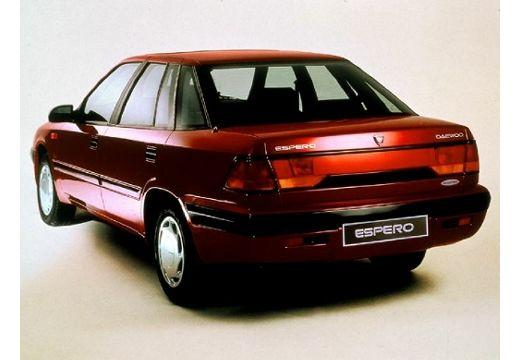 DAEWOO / FSO Espero sedan bordeaux (czerwony ciemny) tylny lewy