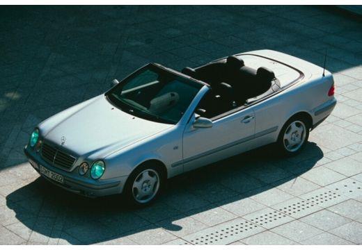 MERCEDES-BENZ Klasa CLK CLK Cabriolet A 208 kabriolet silver grey przedni lewy