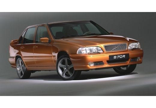 VOLVO S70 sedan brązowy przedni prawy