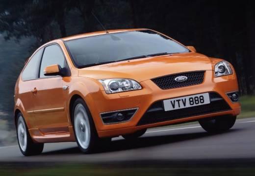 FORD Focus III hatchback pomarańczowy przedni prawy