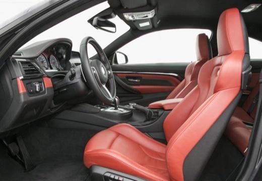 BMW Seria 4 F32 coupe wnętrze