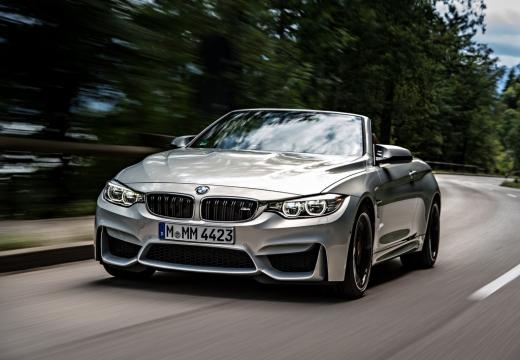 BMW Seria 4 Cabrio F33 kabriolet silver grey przedni lewy