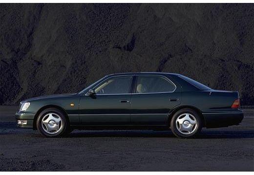 LEXUS LS 400 II sedan czarny boczny lewy