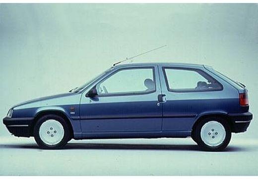 CITROEN ZX I hatchback niebieski jasny boczny lewy